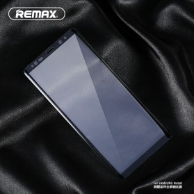 REMAX GL-08 Crystal 3D 9H Tempered Glass for Samsung Galaxy Note 8 - Black