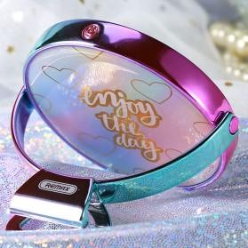 Remax Mirror Selfie Ring Light - ML-03 - Pink - 5