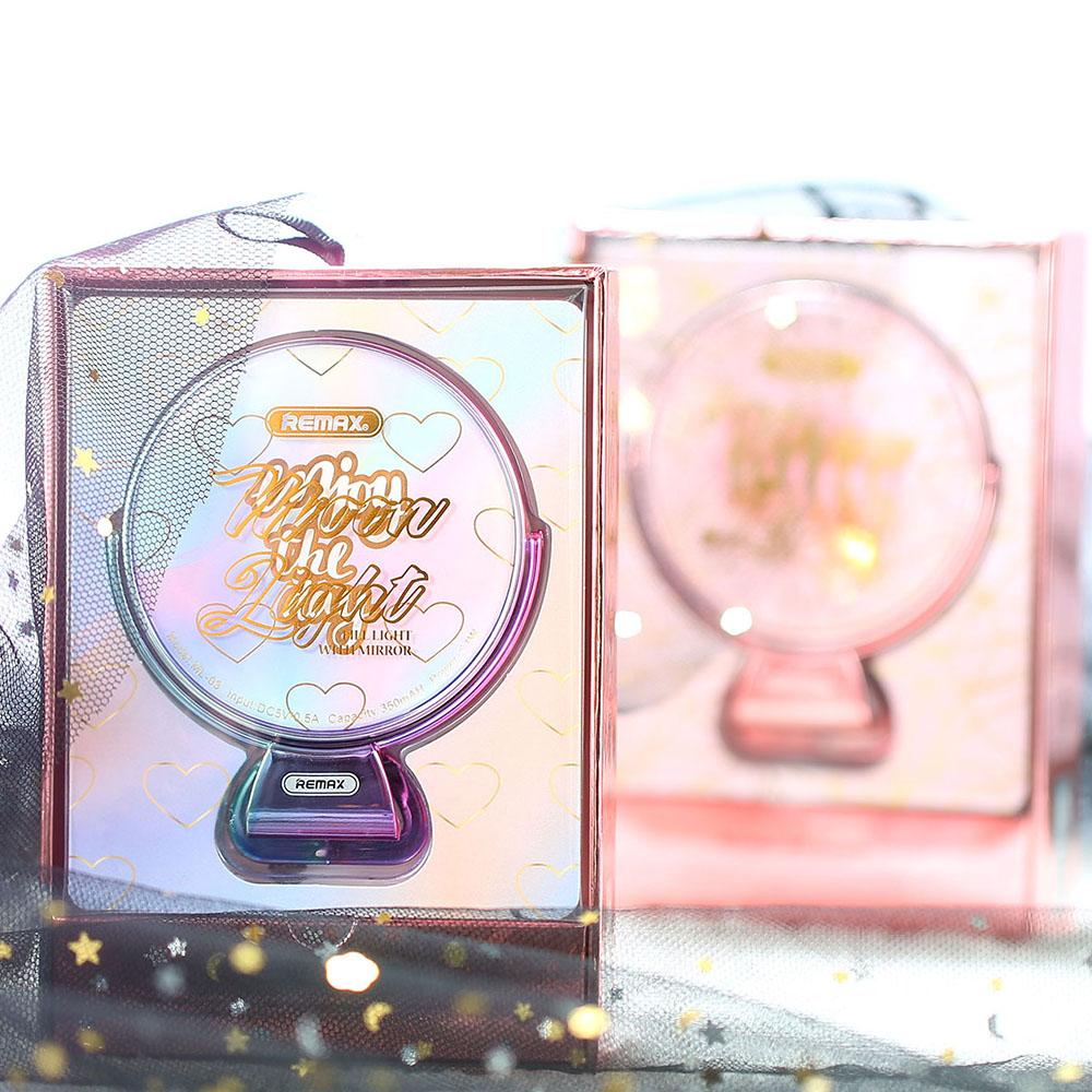 Remax Mirror Selfie Ring Light Ml 03 Pink