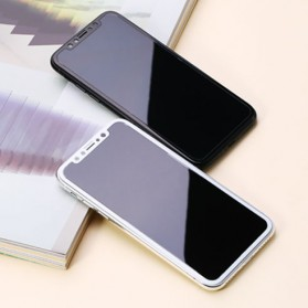 REMAX GL-08 Tempered Glass for iPhone X/XS - Black - 2