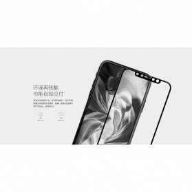 REMAX GL-08 Tempered Glass for iPhone X/XS - Black - 7