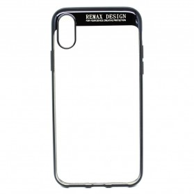 Remax Creative Series Softcase for iPhone X - Black