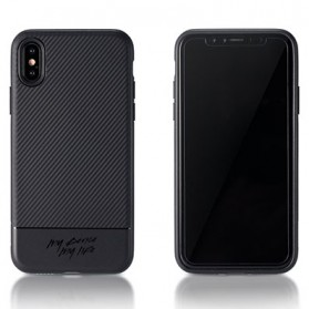 Remax Vigor Series Softcase for iPhone X - Black