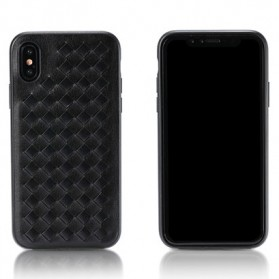 Remax Weave Series Hardcase for iPhone X - Black