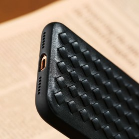 Remax Weave Series Hardcase for iPhone X - Black - 5