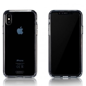 Remax Crystal Shield Series Hardcase for iPhone X - Transparent - 1