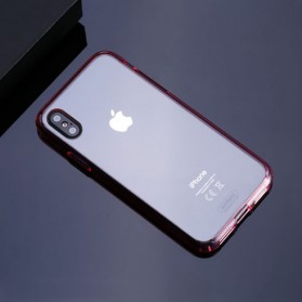 Remax Crystal Shield Series Hardcase for iPhone X - Transparent - 3