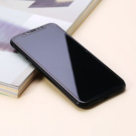 REMAX GL-09 Perfect Series 9H Tempered Glass 0.3mm for iPhone X - Black - 2