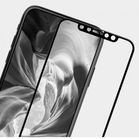 REMAX GL-09 Perfect Series 9H Tempered Glass 0.3mm for iPhone X - Black - 4