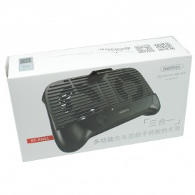Remax Smartphone Cooling Gamepad -RT-EM01 - Black - 6