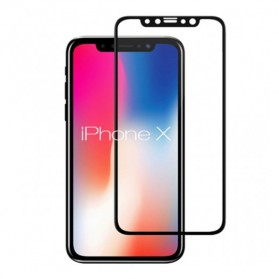 REMAX GL-09 Front & Back Tempered Glass 0.3mm for iPhone X - Black