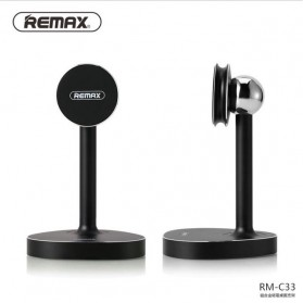 Remax Stand Holder Smartphone Tablet Magnetik - RM-C33 - Black