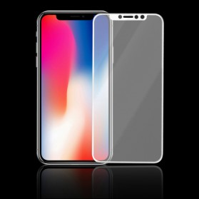 Proda Knight Full Glue 3D Tempered Glass for iPhone X/XS - White