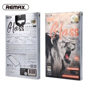 Remax Emperor 9D Full Cover 9H Tempered Glass for iPhone X/XS - Black - 4