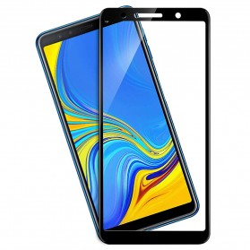 Proda Knight Full Glue 3D Tempered Glass for Samsung Galaxy A7 2018 - Black