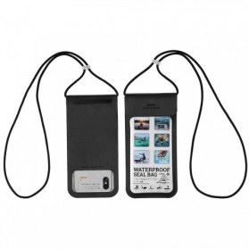 Remax Waterproof Bag 30 Meter for Smartphone 6 Inch - RT-W3 - Black