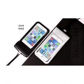 Remax Waterproof Bag 30 Meter for Smartphone 6 Inch - RT-W3 - Black - 2