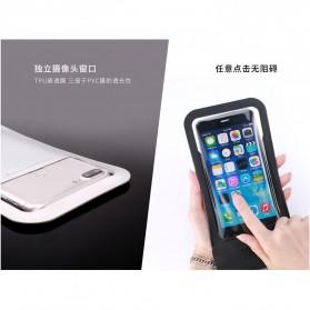 Remax Waterproof Bag 30 Meter for Smartphone 6 Inch - RT-W3 - Black - 3