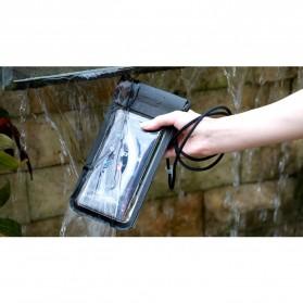 Remax Waterproof Bag 30 Meter for Smartphone 6 Inch - RT-W3 - Black - 6