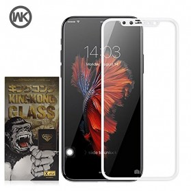 REMAX WK KingKong Series 3D Full Cover Tempered Glass for iPhone 7/8 - White