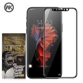 REMAX WK KingKong Series 3D Full Cover Tempered Glass for iPhone X - Black