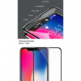 REMAX WK KingKong Series 3D Full Cover Tempered Glass for iPhone X - Black - 5
