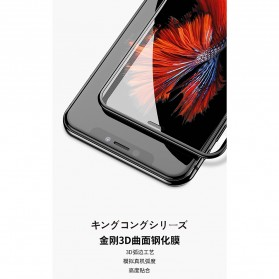 REMAX WK KingKong Series 3D Full Cover Tempered Glass for iPhone X - Black - 7