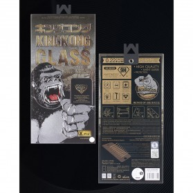 REMAX WK KingKong Series 3D Full Cover Tempered Glass for iPhone X - Black - 11