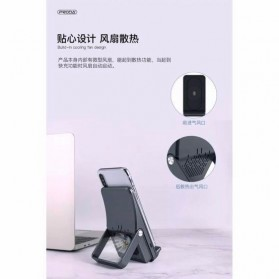 Proda Qi Wireless Charger Stand with Cooling Fan - PD-W3 - Black - 3
