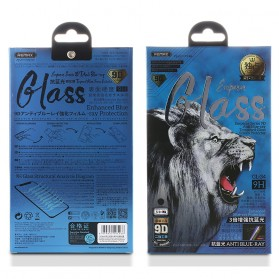 Remax Emperor Anti-Blue Light 3D Full Cover Tempered Glass for iPhone XS Max / iPhone 11 Pro Max - GL-34 - Black
