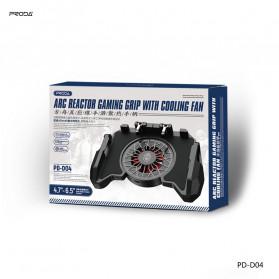 Remax Proda ARC Reactor Gamepad Grip Trigger Aim L1 R1 PUBG with Fan - PD-D04 - Black - 3