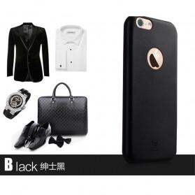 Baseus Boke Series Ultra-Thin TPU Leather Case for iPhone 6 - Black