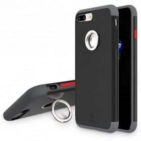 Baseus Magnetic Ring Case for iPhone 7 - Black