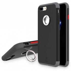 Baseus Magnetic Ring Case for iPhone 7 Plus - Black