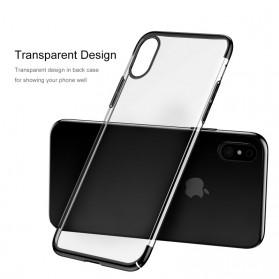 Baseus Glitter Hardcase for iPhone X - Blue - 2