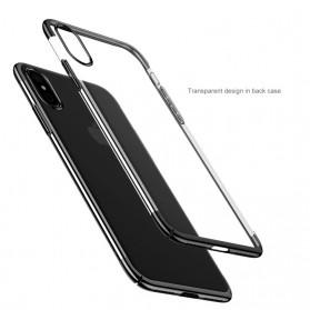 Baseus Glitter Hardcase for iPhone X - Blue - 4