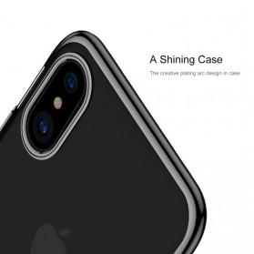 Baseus Glitter Hardcase for iPhone X - Blue - 6