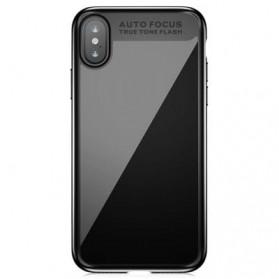 Baseus Suthin Hardcase for iPhone X - Black - 2