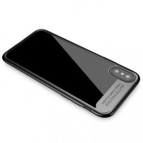 Baseus Suthin Hardcase for iPhone X - Black - 4
