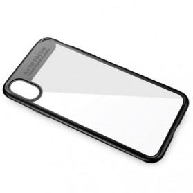 Baseus Suthin Hardcase for iPhone X - Black - 5