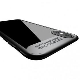 Baseus Suthin Hardcase for iPhone X - Black - 6