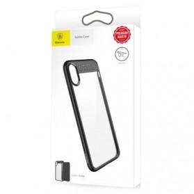 Baseus Suthin Hardcase for iPhone X - Black - 9