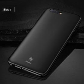 Baseus Thin Case for Oppo R11 Plus - Black