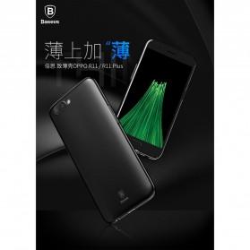 Baseus Thin Case for Oppo R11 Plus - Black - 3