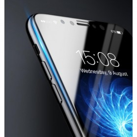 Baseus Silkprint Anti Blue Light PET 3D Tempered Glass for iPhone X/XS - 4