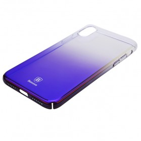 Baseus Glaze Hardcase for iPhone X - Purple