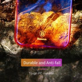 Baseus Glaze Hardcase for iPhone X - Purple - 2