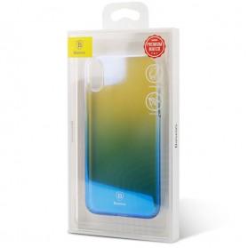 Baseus Glaze Hardcase for iPhone X - Purple - 9
