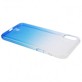 Baseus Glaze Hardcase for iPhone X - Blue