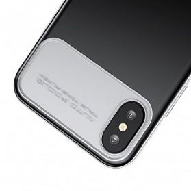 Baseus Slim Lotus Series Hardcase for iPhone X - Black - 2